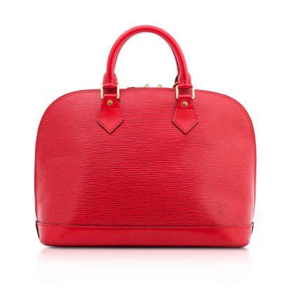 Louis Vuitton Red Alma