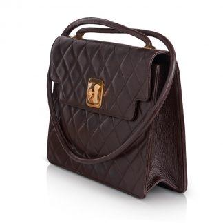 Vintage Chanel Brown Bag