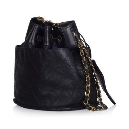 Vintage Chanel Drawstring Bag