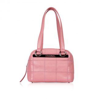 Chanel Pink Boston Bag