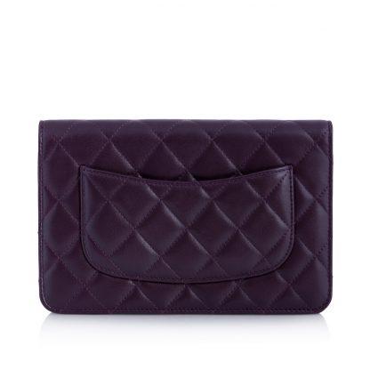 Chanel Woc Purple Wallet